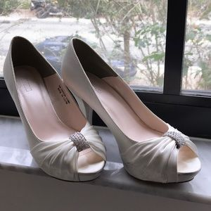 BRIDAL SHOES - worn once 👰🏻